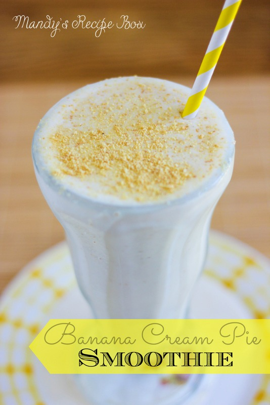 Banana Cream Pie Smoothie