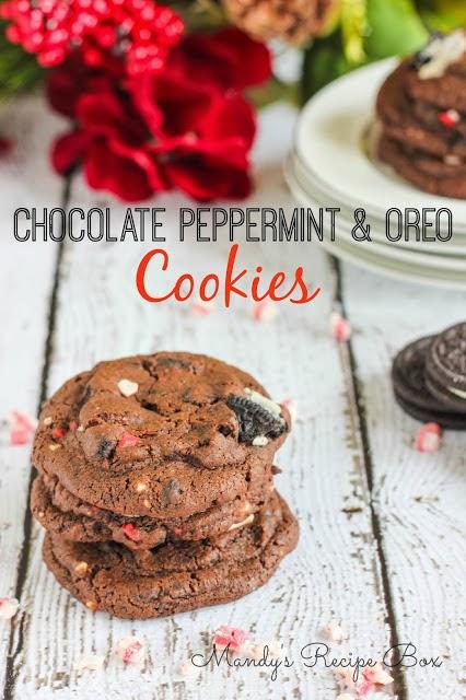 Chocolate Peppermint Oreo Cookies