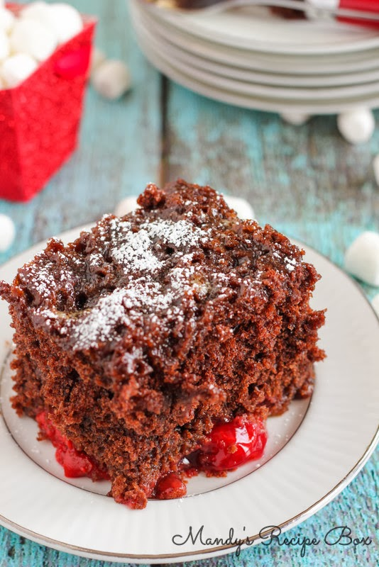 That S Your Marshmallows I Can T Even Tell You How Delicious This Cake Is Especially Once Add Lucky Leaf Cherry Pie Filling