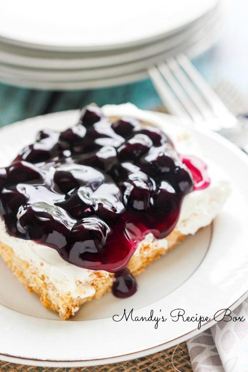 Blueberry Cheesecake Bars Mandy S Recipe Box