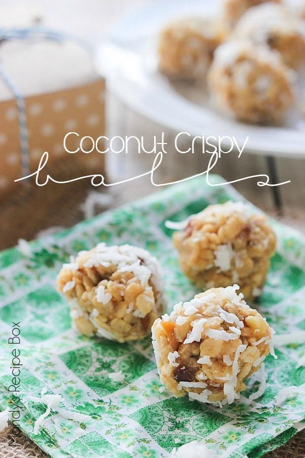 Coconut Crispy Balls