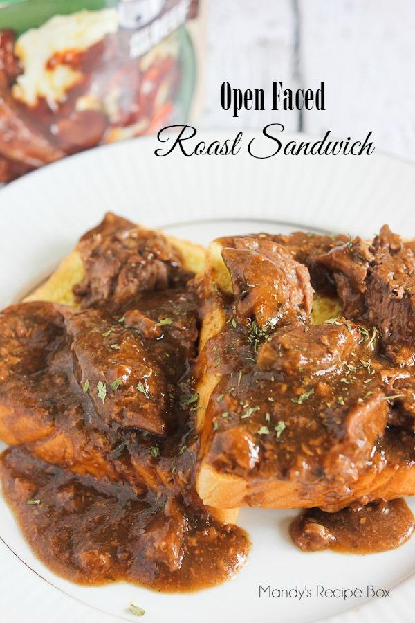 Open-Faced-Roast-Sandwich
